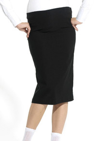 NYC Straight Black Maternity Skirt