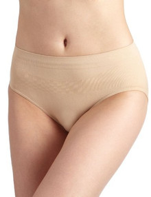 Hipline Nude Maternity Brief Underwear