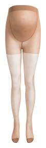 Sheer Maternity Tights - Nude