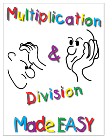 Multiplication & Division Made EASY, 44 pages, gr. 2-9