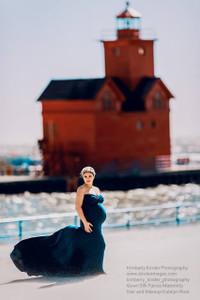 Stella Maternity Dress