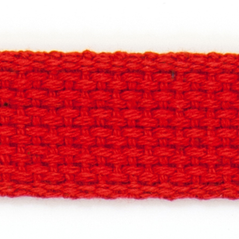 """1"""" Cotton webbing RED - 60207-00017"""