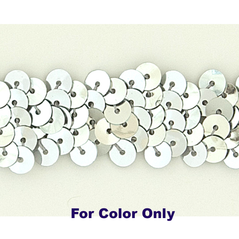 8MM Cup loose sequin bag SILVER - 09078-00002