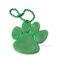 funflector Soft Film Green Paw Reflector