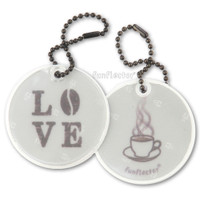 funflector Soft Film Love Coffee Double Sided Reflector