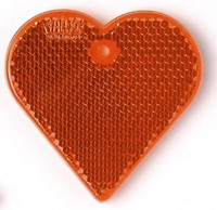 Hard Prism Red Heart Reflector