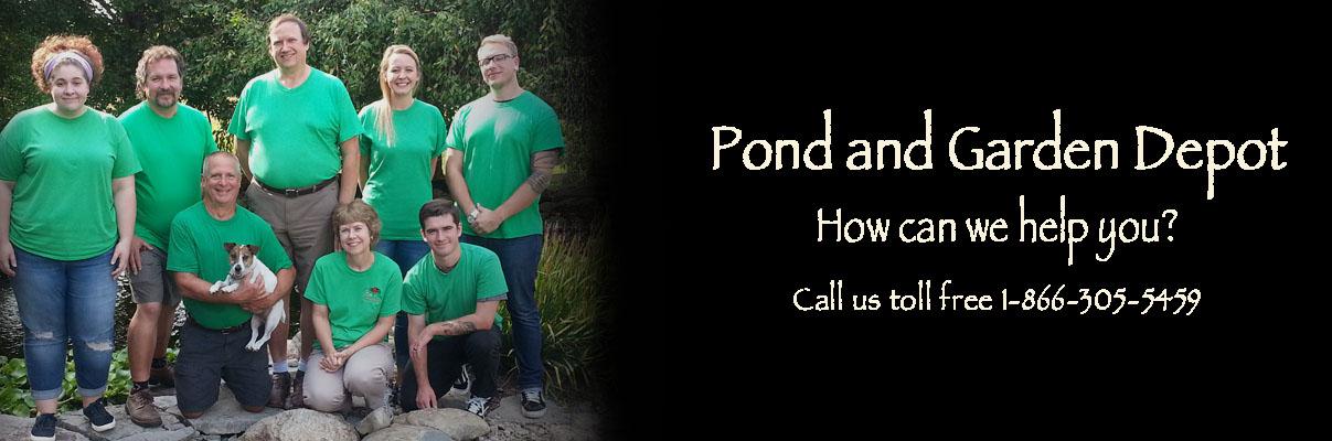 Pond & Garden Depot Staff 2017