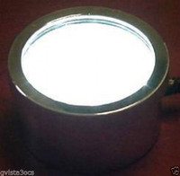 36 LED white submersible pond light, landscape