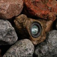 Faux Rock LED Light -for pond and garden/landscape
