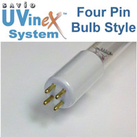 Savio Uvinex 50W 4-Pin Bulb -  Replacement Bulb for Stainless Steel System