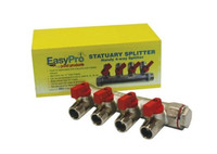 EasyPro 4 Way Brass Statuary and Air Splitter SS4