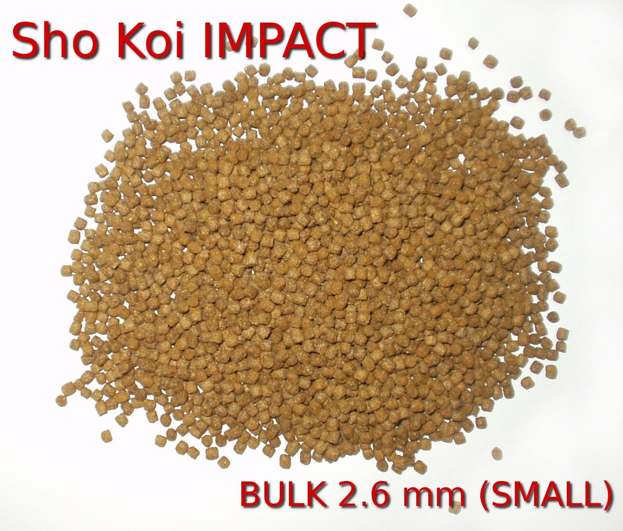 Sho Koi bulk small 2 6 mm- 5 LB