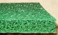 "Matala Sheet-  2-Pack (Green) 24"" x 39"" filters"