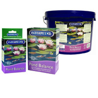Pond Balance by Interpet is a string algae treatment that strengthens aquatic plants, We offer free shipping on orders over $99 | Pond and Garden Depot