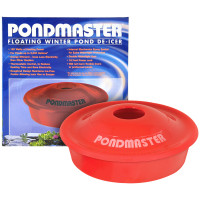 Pondmaster floating pond deicer and heater for winter koi pond and water garden care