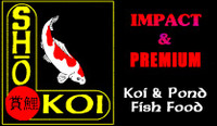 Sho Koi Impact- 25 LB BULK- premium koi and goldfish pond fish food