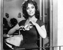 This is an image of 186606 Gina Lollobrigida Photograph & Poster