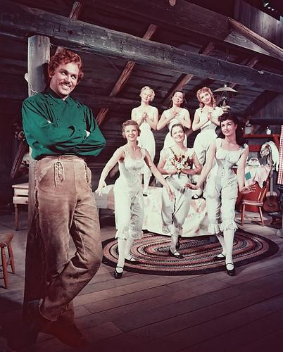 This is an image of 241303 Howard Keel Photograph & Poster