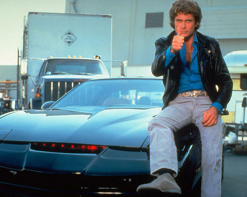 This is an image of 256750 David Hasselhoff Photograph & Poster