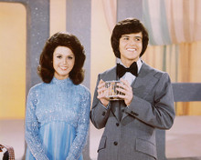This is an image of 262854 Donny Osmond & Marie Osmond Photograph & Poster