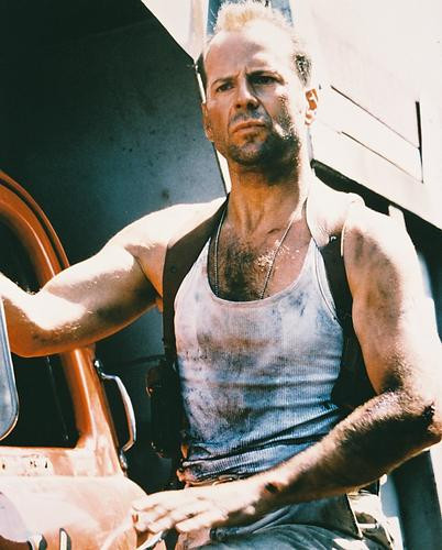 This is an image of 216303 Bruce Willis Photograph & Poster