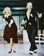 This is an image of 216412 Fred Astaire & Ginger Rogers Photograph & Poster