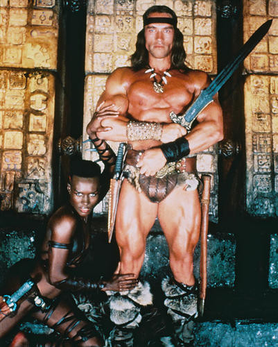 This is an image of 219683 Arnold Schwarzenegger Photograph & Poster
