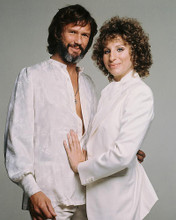 This is an image of 219722 Barbra Streisand & Kris Kristofferson Photograph & Poster