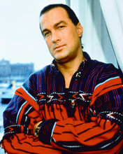 This is an image of 220732 Steven Seagal Photograph & Poster