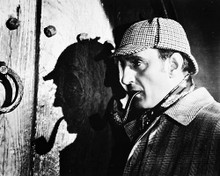 This is an image of 168213 Basil Rathbone Photograph & Poster