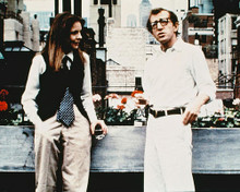This is an image of 230136 Woody Allen & Diane Keaton Photograph & Poster