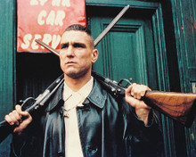 This is an image of 234620 Vinnie Jones Photograph & Poster