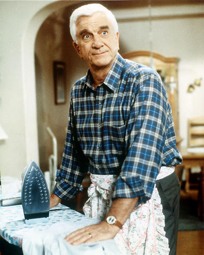 This is an image of 229128 Leslie Nielsen Photograph & Poster