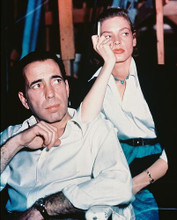 This is an image of 230430 Humphrey Bogart & Bacall Photograph & Poster