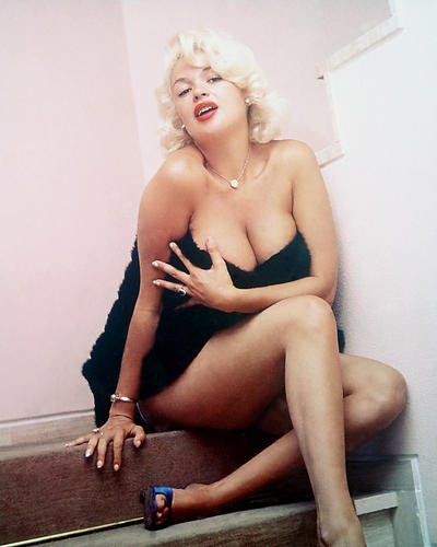 This is an image of 233003 Jayne Mansfield Photograph & Poster