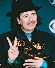 This is an image of 241854 Carlos Santana Photograph & Poster