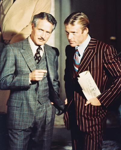 This is an image of 243058 Robert Redford & Paul Newman Photograph & Poster
