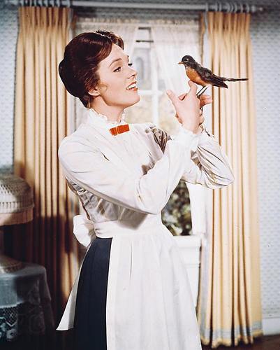 This is an image of 245432 Julie Andrews Photograph & Poster