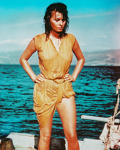 This is an image of 247437 Sophia Loren Photograph & Poster