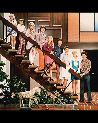 This is an image of 256994 The Brady Bunch Photograph & Poster