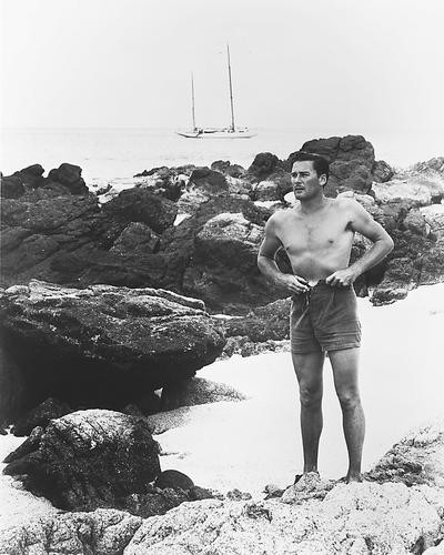 This is an image of 173437 Errol Flynn Photograph & Poster