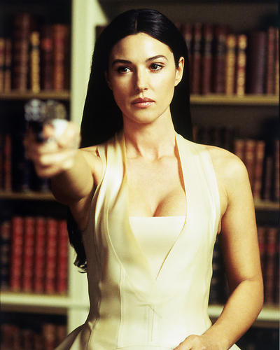 This is an image of 258408 Monica Bellucci Photograph & Poster