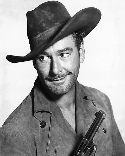 This is an image of 175388 Errol Flynn Photograph & Poster