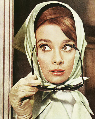 This is an image of 265014 Audrey Hepburn Photograph & Poster