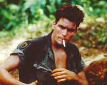 This is an image of 255444 Charlie Sheen Photograph & Poster