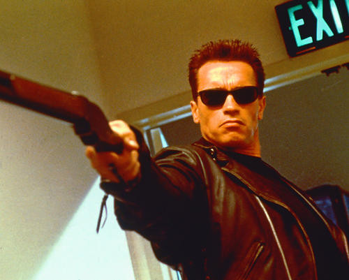 This is an image of 264132 Arnold Schwarzenegger Photograph & Poster