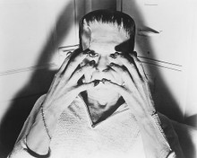 This is an image of 173471 Boris Karloff Photograph & Poster