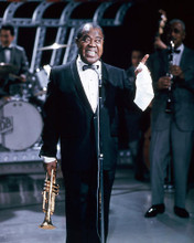 This is an image of 265397 Louis Armstrong Photograph & Poster