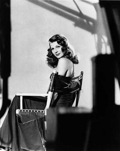 This is an image of 179298 Rita Hayworth Photograph & Poster