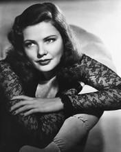 This is an image of 179363 Gene Tierney Photograph & Poster